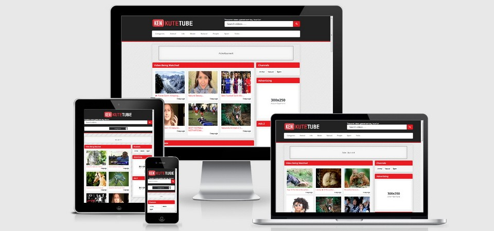 KuteTube Wordpress Video Theme